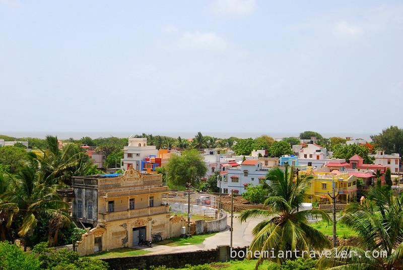 View from Herança Goesa guesthouse.