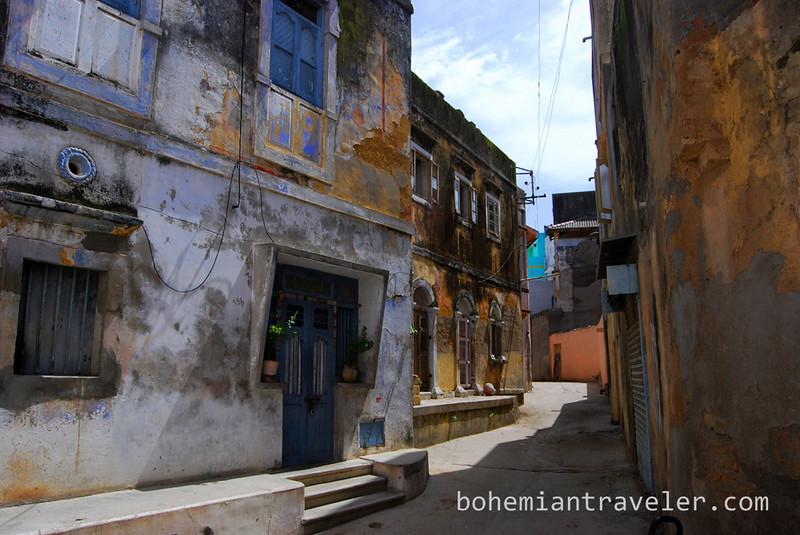 Street in Diu.