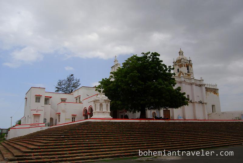 Church of St Francis of Assisi Hostpital in Diu