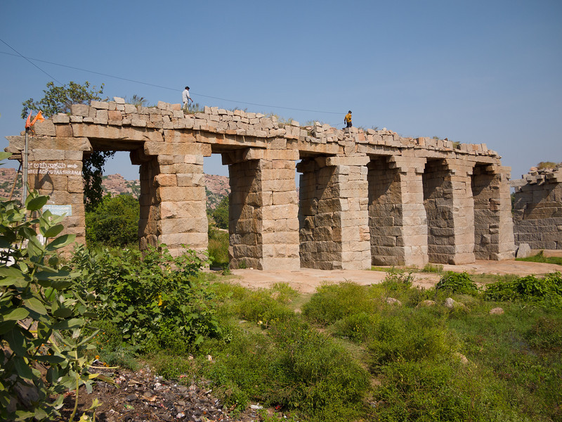 Old Vijayanagara bridge.