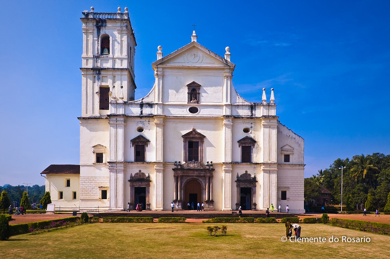 Se Cathedral in Old Goa, Goa, India