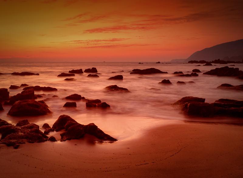 Golden Hour at Cola Beach, Canacona,Goa
