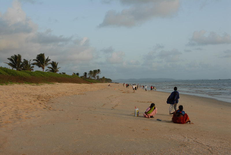 Beach in Southern Goa