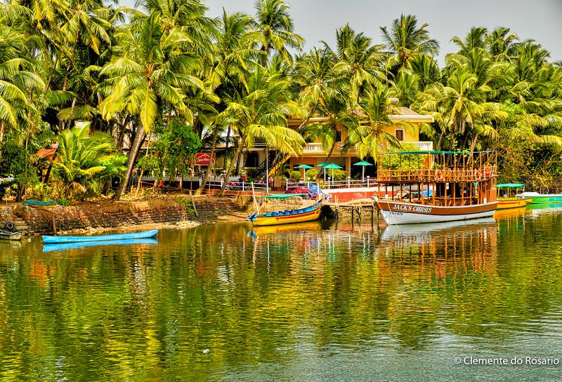 Cruising the River Sal, Mobor, South Goa