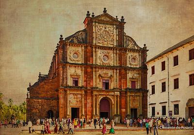 Basilica of Bom Jesus,Old Goa,Goa, India