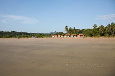 Romance Beach Huts, Agonda beach