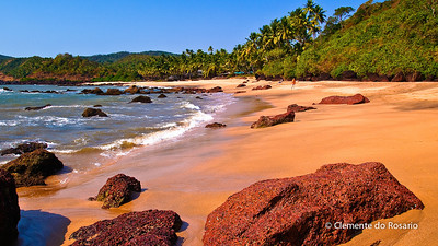 Cola Beach, Canacona, South Goa, India