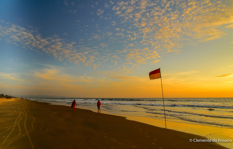 Varca to Cavelossim Beach, Salcette, Goa, India