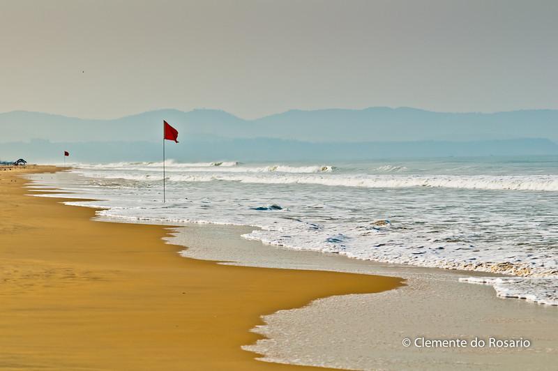 Dawn at Cavelossim Beach, South Goa, India