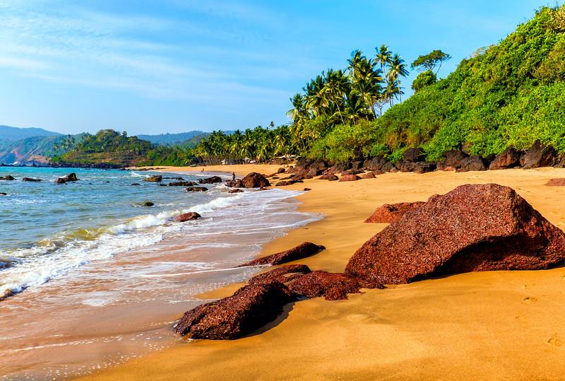 Cola Beach, Canacona, South Goa,India