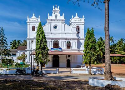Our Lady of Pilar Church,Seraulim,South Goa, India