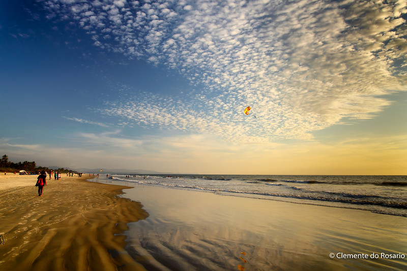 Varca to Cavelossim Beach, Salcette, Gao, India