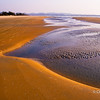 Low tide on Cavelossim Beach, Goa
