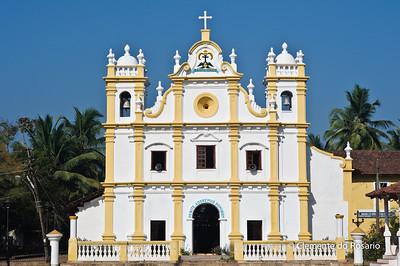 Church of the Holy Cross,Cavelossim,Goa,India