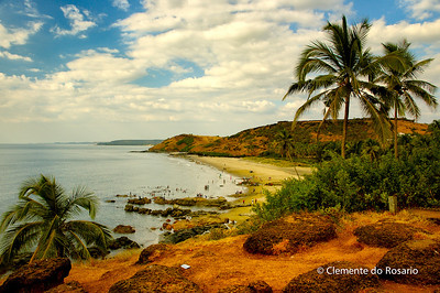 Vagator Beach, North Goa, India