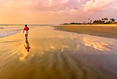 Cavelossim Beach, South Goa, India