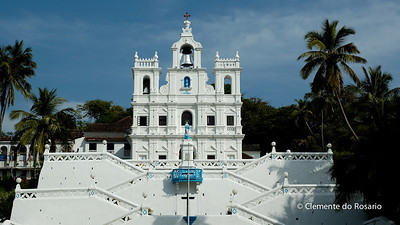 Church of Our Lady of Immaculate Conception at Panaji was the first church built in Goa, around 1540
