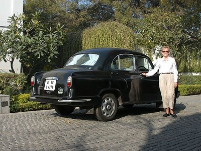 The Manor had a brand new Ambassador to transport us.  It is a very nice vehicle, with lots of room.