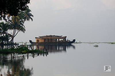 Houseboat, Lake Vembanad
