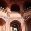 Detail of Humayun's Tomb in Delhi.