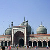 The Jami Masjid Mosque in Old Delhi