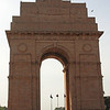 The India Gate in New Delhi honors Indian soldiers who died in WW I.