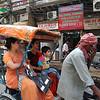 A rickshaw ride in Chandi Chowk, Old Delhi