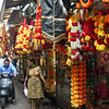 Goods for sale in Chandi Chowk, Old Delhi