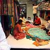 Saree store in Chandi Chowk, Old Delhi