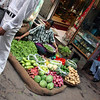 Vegetables for sale in Chandi Chowk, Old Delhi