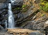 """April 21, 2006 - early morning small hike to Irrupu falls.Many of India's natural attractions - mountains, falls all have a religious connection; the 'nature - god relation' that's quite interesting. Not just interesting, it is the only thing that probably protects nature here. If only the <a href=""""http://www.wpsi-india.org"""">tiger</a> was sacred as the cow, it won't be facing extinction and massive poaching."""