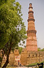 The driver kindly agrees to take us to Qutb Minar. Extremely hot day with temperatures in the 100F range. Drink some stall lemon juice to get loose change for the entry fee. Surely Delhi Belly is not far off :)