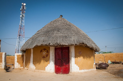 On the traditional Rajasthani house