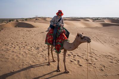 Stephen at Thar Desert  of Rajasthan