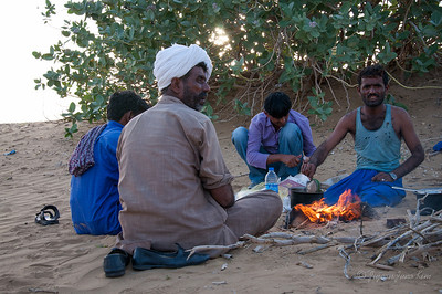 Dinner at Thar Desert