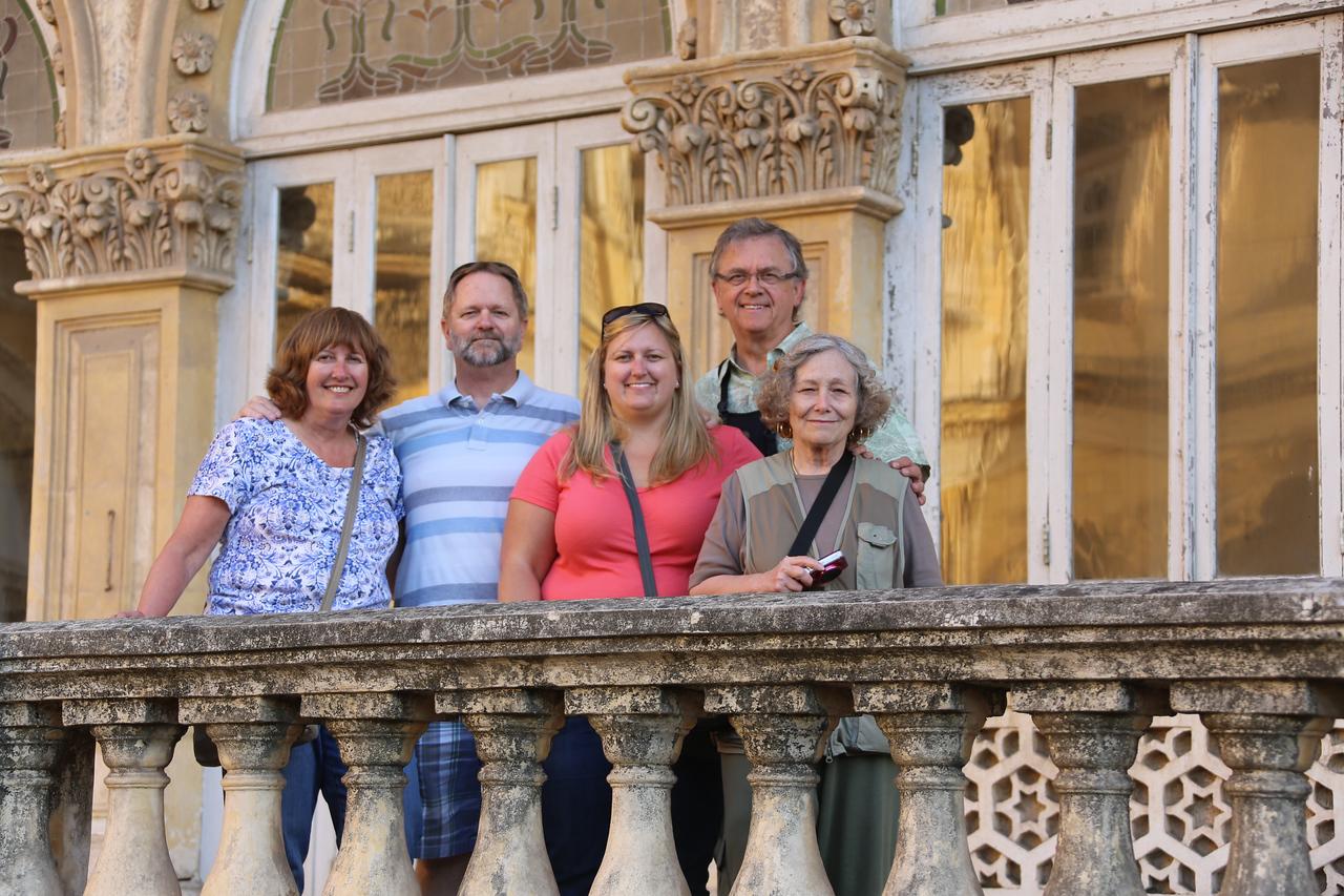 Innocents Abroad:  Karen & Jim Muff, Allison Muff, Jim Boyce & Janet Muff