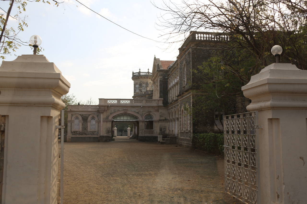 The Queen Dowager's Palace, now a school