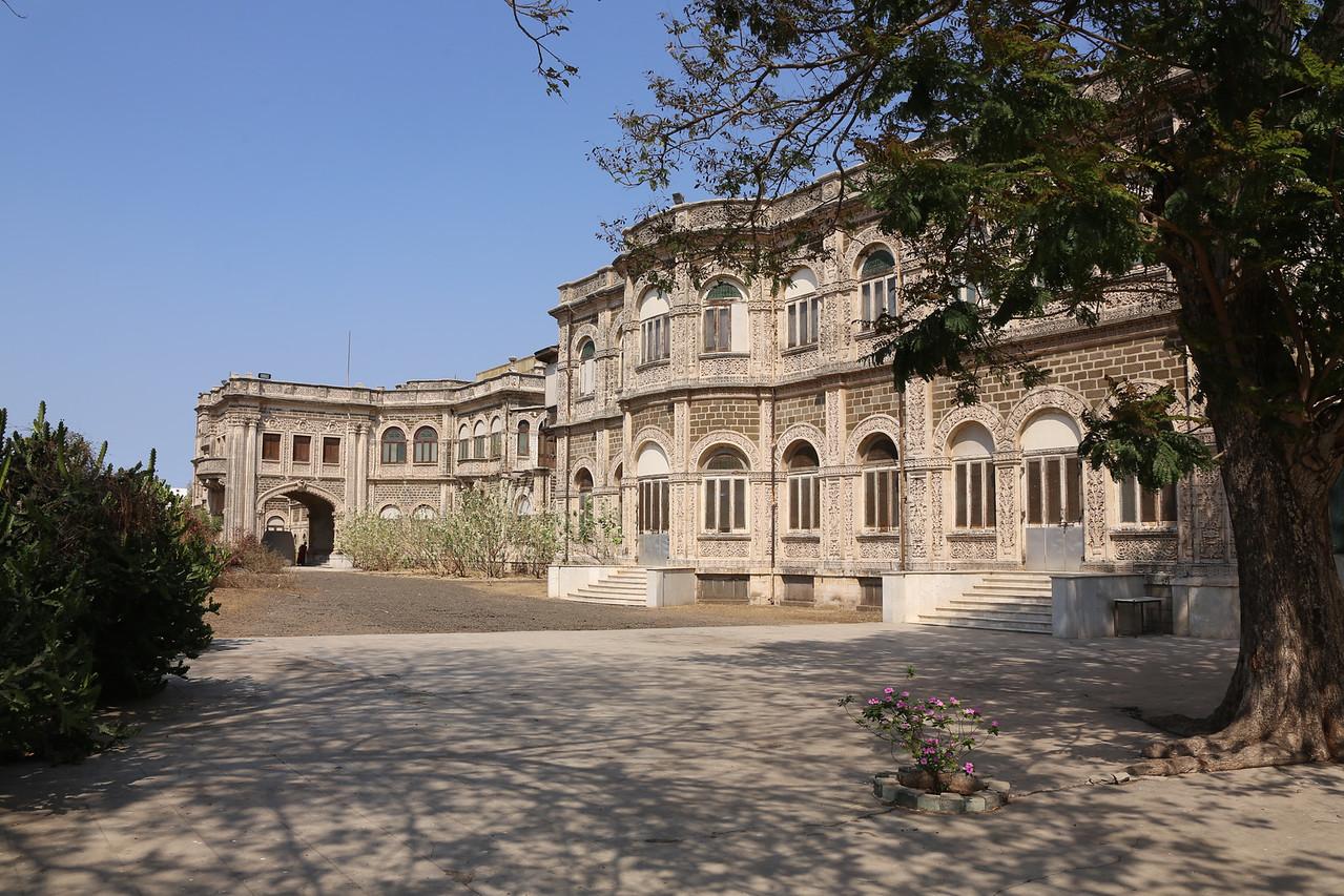 Main living quarters for the royal family