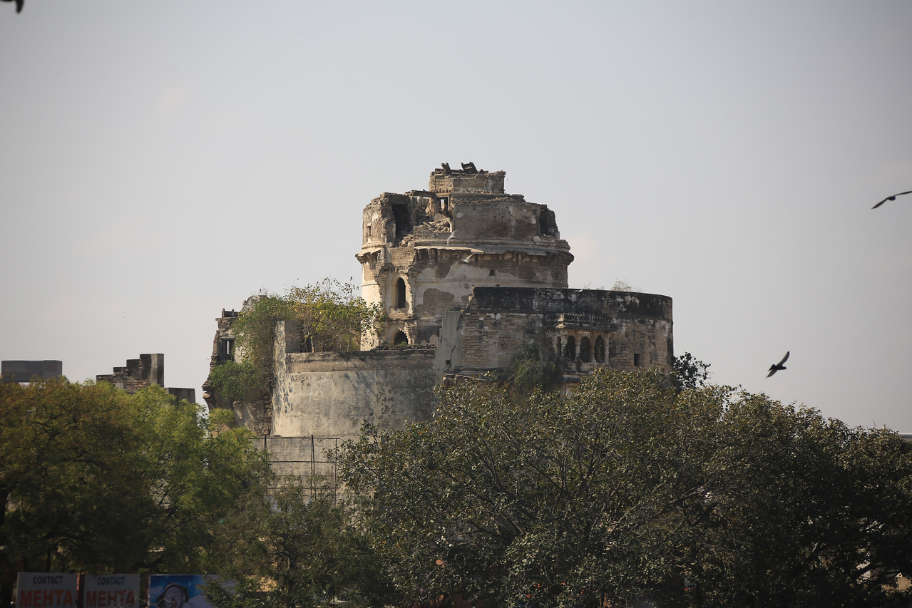 An old fort in center of Jamnagar