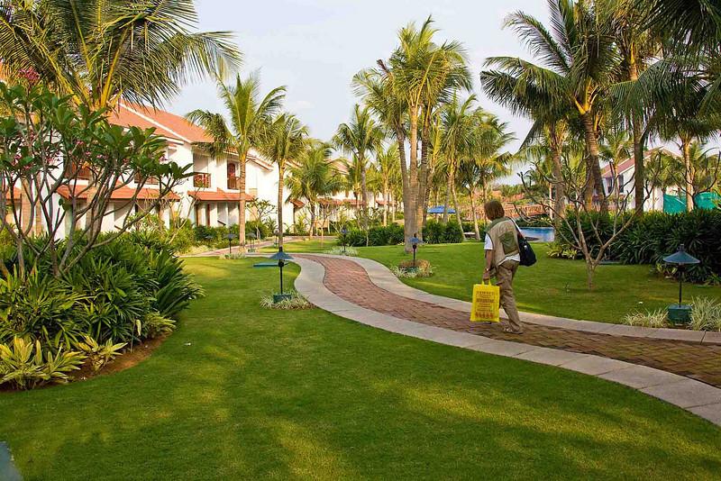 Our hotel in Mamallapurim (the Radisson)