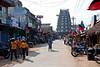 A village street near Mamallurapam.