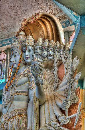 8 of the 12 incarnations of Vishnu