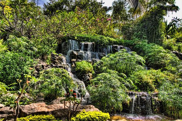 Waterfall-Leela Palace hotel, Bangalore India