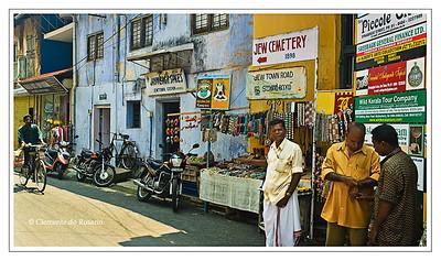 Jewish presence dates back to when St. Thomas landed on the Malabar Coast in Kerala, India File Ref: Kerala-2006 036R Copy