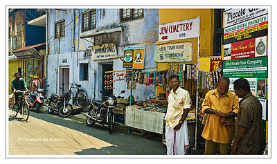 Jewish presence dates back to when St. Thomas landed on the Malabar Coast in Kerala, India File Ref: Kerala-2006 036R Copy