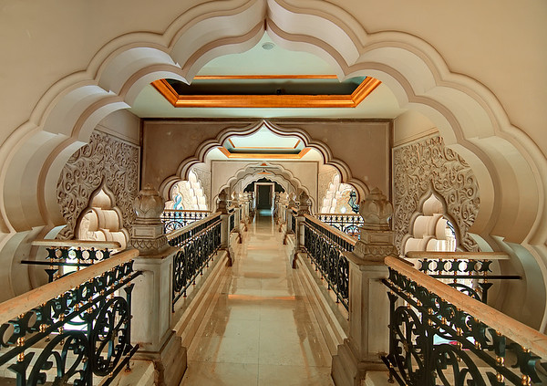 Catwalk-Leela Palace Hotel-Bangalore India