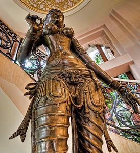 Goddess of Boobies-Leela Palace Hotel, Bangalore India