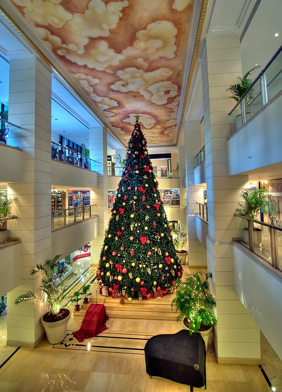 Christmas Tree-Leela Palace Hotel-Bangalore India