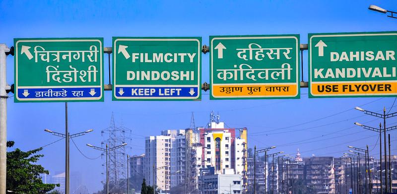 Heading North Leaving Mumbai