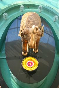 Centerpiece statue at the Marriott